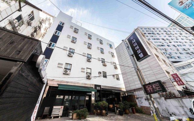 Отель Shire Inn Южная Корея, Сеул - отзывы, цены и фото номеров - забронировать отель Shire Inn онлайн вид на фасад