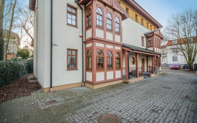 Апартаменты Dom & House - Apartments Zacisze Сопот вид на фасад