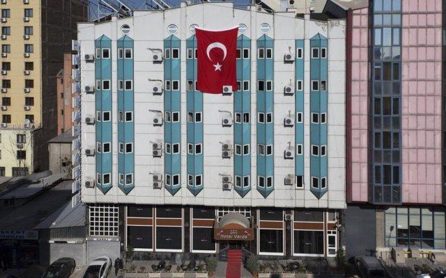 Verda Hotel Турция, Анкара - отзывы, цены и фото номеров - забронировать отель Verda Hotel онлайн вид на фасад