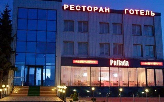 Pallada Hotel вид на фасад