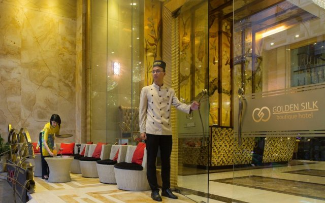 Golden Silk Boutique Hotel вид на фасад