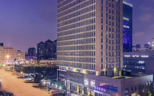 Отель Xiamen Yilai International Apartment Hotel Китай, Сямынь - отзывы, цены и фото номеров - забронировать отель Xiamen Yilai International Apartment Hotel онлайн вид на фасад