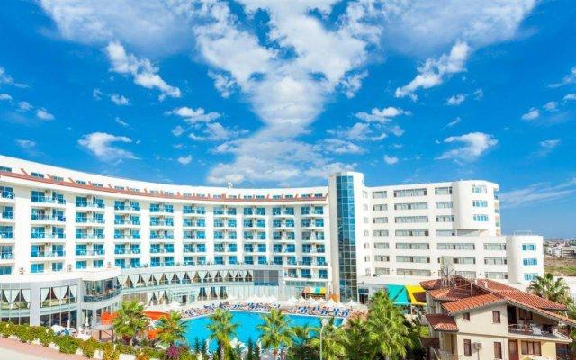 Narcia Resort Side Турция, Сиде - отзывы, цены и фото номеров - забронировать отель Narcia Resort Side - All Inclusive онлайн вид на фасад