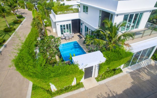Отель Hollywood Pool Villa Jomtien Pattaya вид на фасад