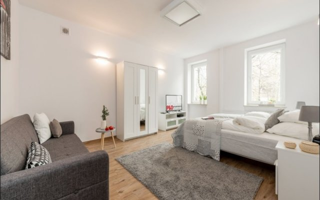 Апартаменты P&O Apartments Metro Politechnika комната для гостей