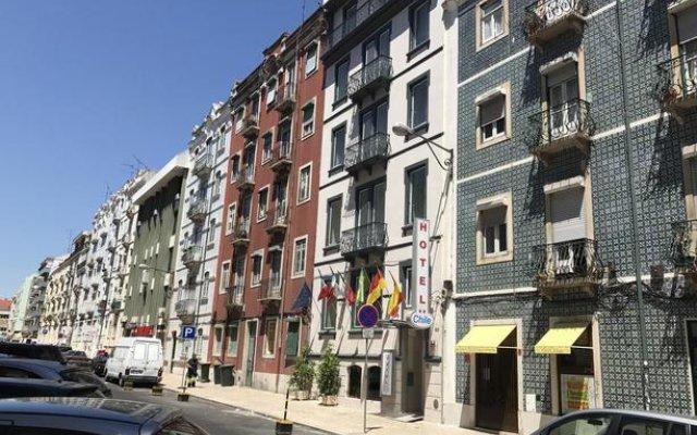 Отель Do Chile Португалия, Лиссабон - отзывы, цены и фото номеров - забронировать отель Do Chile онлайн вид на фасад