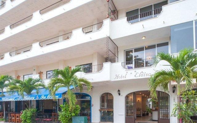 Отель ELOISA Пуэрто-Вальярта вид на фасад