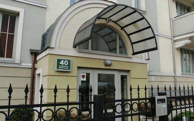 Отель Apartament Piotr Сопот вид на фасад