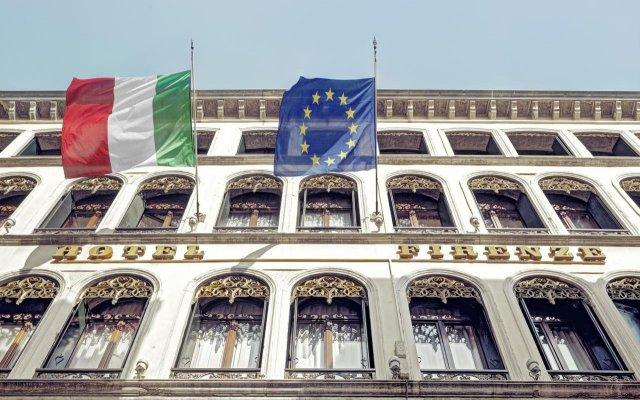 Hotel Firenze вид на фасад