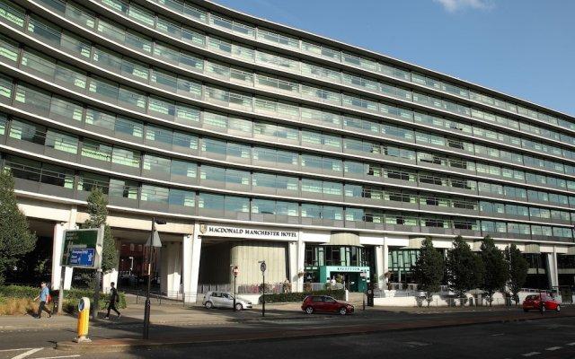 Macdonald Manchester Hotel & Spa вид на фасад