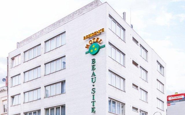 Hotel Beau Site Брюссель вид на фасад