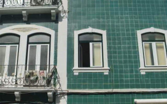 Отель Residencial Mar dos Acores вид на фасад
