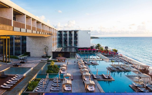 Отель Grand Hyatt Playa Del Carmen Resort Package пляж