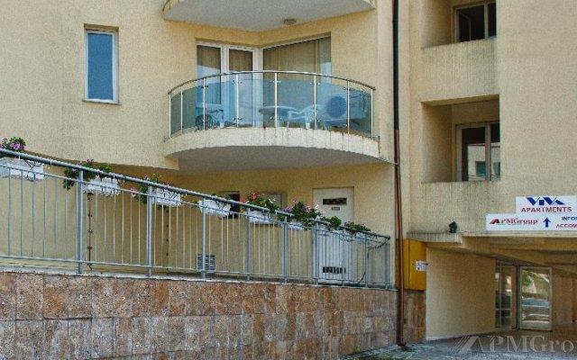 Отель Viva Apartments Болгария, Солнечный берег - отзывы, цены и фото номеров - забронировать отель Viva Apartments онлайн вид на фасад