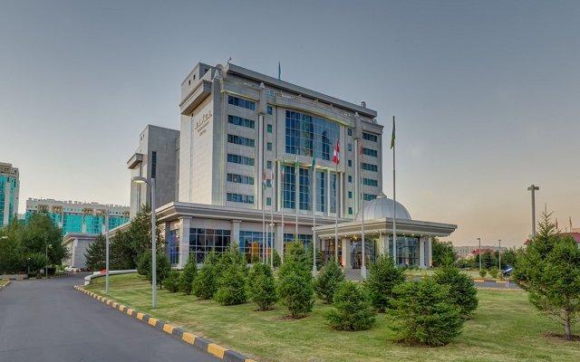 Гостиница Rixos President Astana Казахстан, Нур-Султан - 1 отзыв об отеле, цены и фото номеров - забронировать гостиницу Rixos President Astana онлайн вид на фасад