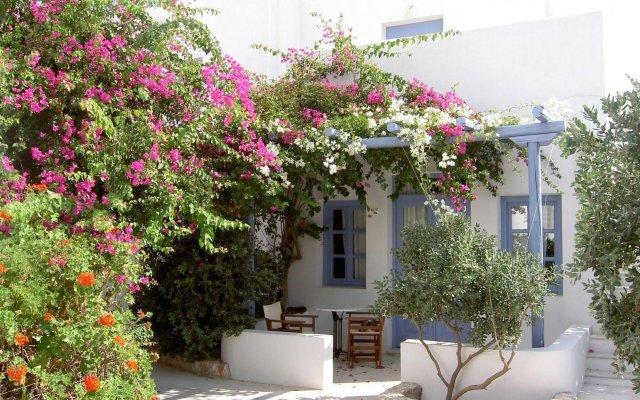 Отель Meltemi Village вид на фасад