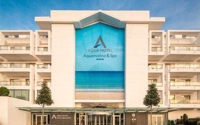 Aqua Hotel Aquamarina & Spa вид на фасад