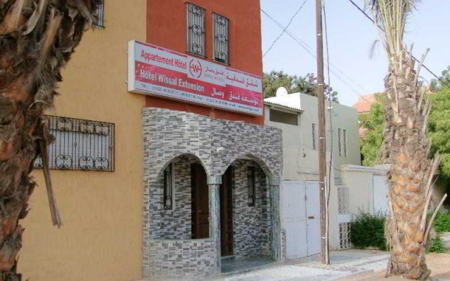 Hotel Wissal in Nouakchott, Mauritania from 136$, photos, reviews - zenhotels.com hotel front