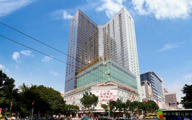 Апартаменты Pengman Beijing Rd. A-mall Apartment вид на фасад