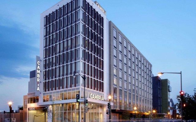 Отель Cambria Hotel Washington, D.C. Convention Center США, Вашингтон - отзывы, цены и фото номеров - забронировать отель Cambria Hotel Washington, D.C. Convention Center онлайн вид на фасад