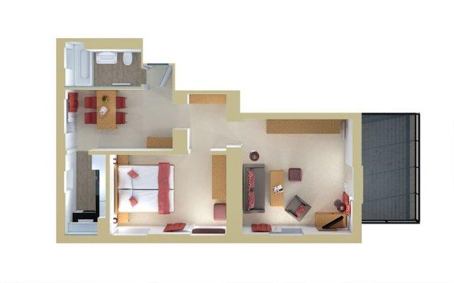 Отель Central Swiss Quality Apartments Швейцария, Давос - отзывы, цены и фото номеров - забронировать отель Central Swiss Quality Apartments онлайн вид на фасад