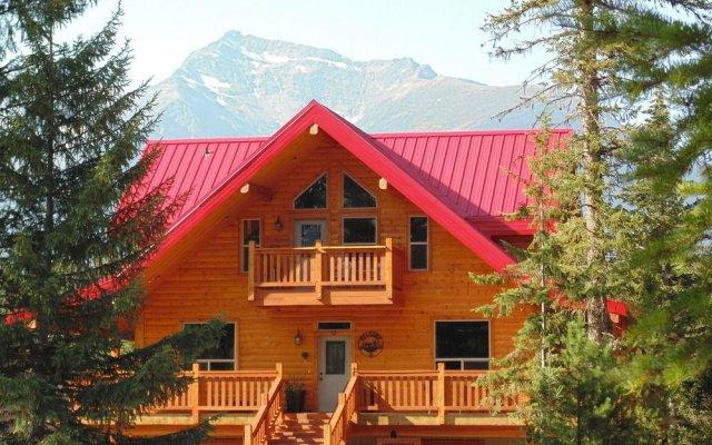 Отель Timberwolf Lodge-B&B вид на фасад