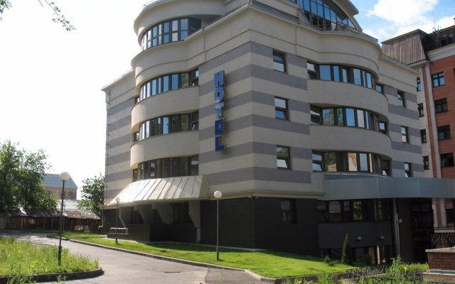 Гостиница Союз вид на фасад