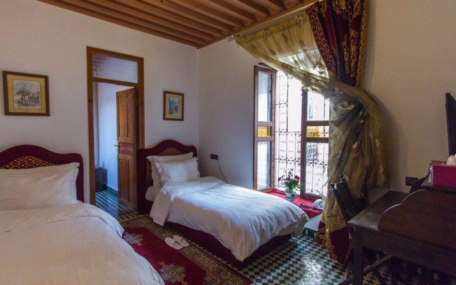 Отель Palais d'Hôtes Suites & Spa Fes Марокко, Фес - отзывы, цены и фото номеров - забронировать отель Palais d'Hôtes Suites & Spa Fes онлайн комната для гостей