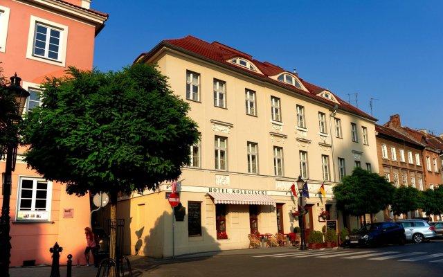 Отель Kolegiacki Польша, Познань - отзывы, цены и фото номеров - забронировать отель Kolegiacki онлайн вид на фасад