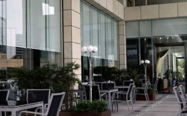 Отель Shenzhen Marina Club Шэньчжэнь вид на фасад