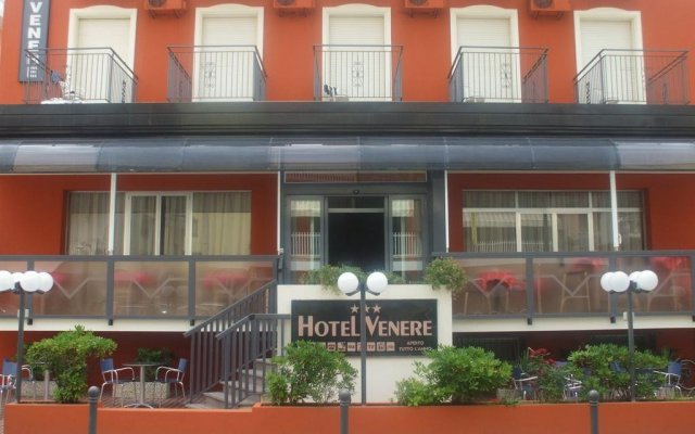 Venere Hotel вид на фасад