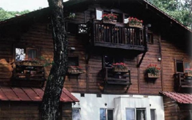 Отель Pension Tabibito Хакуба вид на фасад