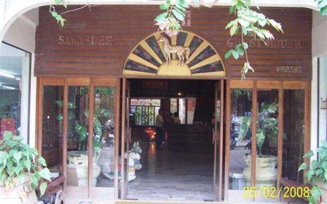 Отель Sawasdee Guest House вид на фасад