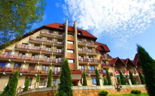 Гостиница Пансионат Славский вид на фасад