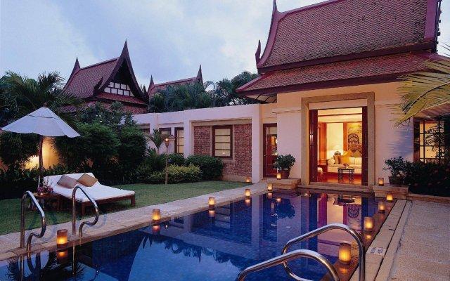 Отель Banyan Tree Phuket Таиланд, Пхукет - 1 отзыв об отеле, цены и фото номеров - забронировать отель Banyan Tree Phuket онлайн вид на фасад