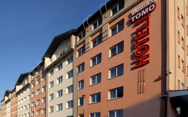 Apart Hotel Tomo Рига вид на фасад