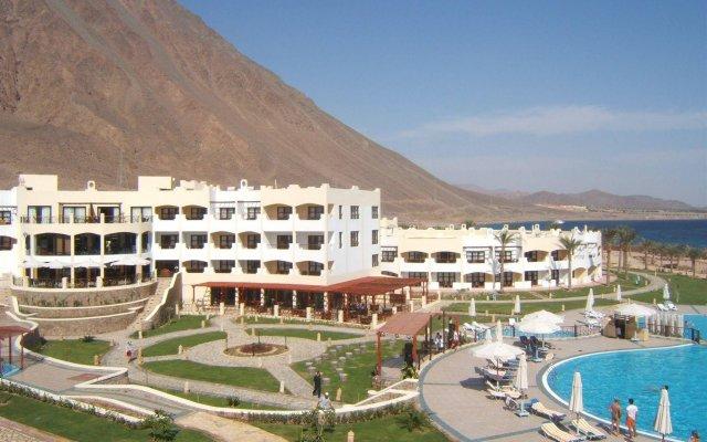 Отель Aquamarine Sun Flower Resort вид на фасад