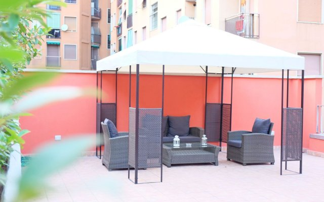 Отель B&B I 10 Mondi Италия, Милан - отзывы, цены и фото номеров - забронировать отель B&B I 10 Mondi онлайн вид на фасад