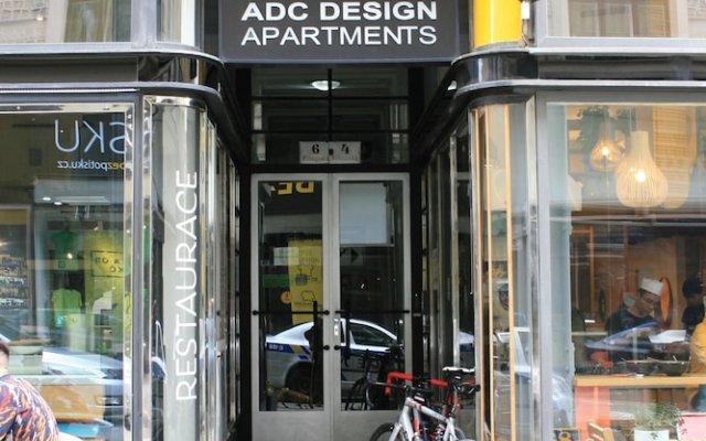 Отель ADC Design Apartmány Чехия, Брно - отзывы, цены и фото номеров - забронировать отель ADC Design Apartmány онлайн вид на фасад