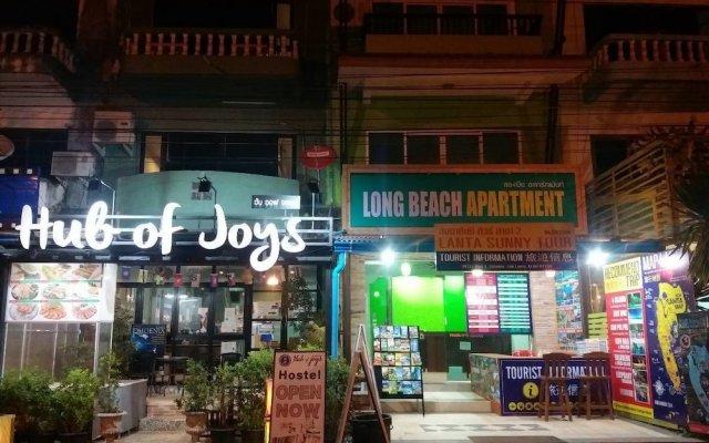 Lanta Long Beach Apartment - Hostel вид на фасад