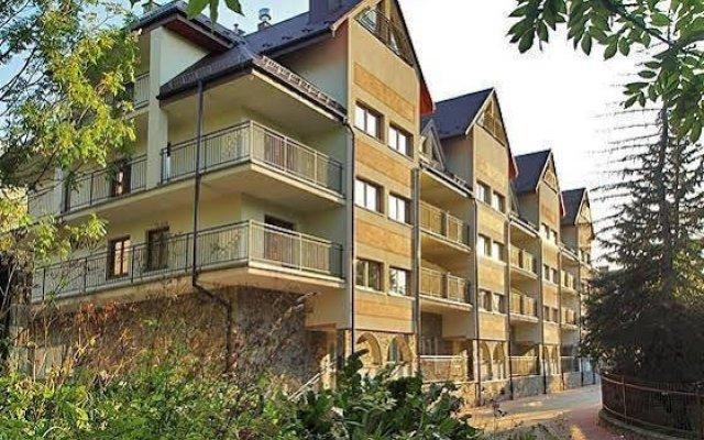 Отель Apartament Róża Pustyni Закопане вид на фасад