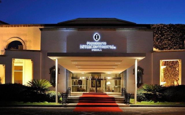 Отель InterContinental Presidente Puebla вид на фасад