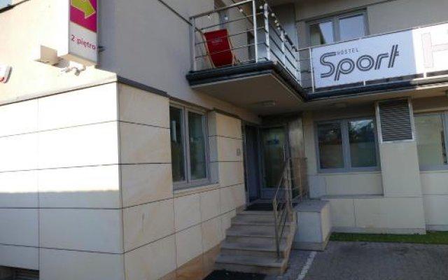 Sport Hostel вид на фасад