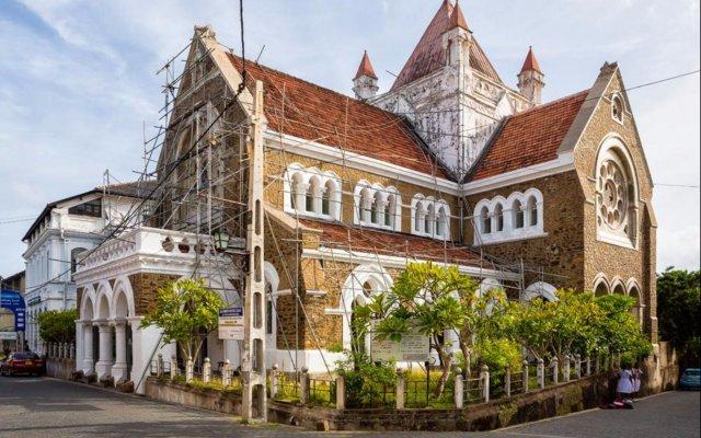 Отель Villa Ayura Шри-Ланка, Галле - отзывы, цены и фото номеров - забронировать отель Villa Ayura онлайн вид на фасад