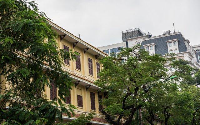 Hoang Anh Cau Giay 3 Hotel Ханой вид на фасад