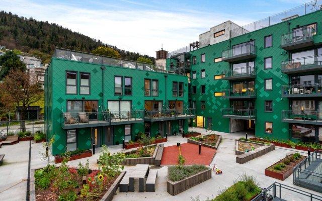 Bjørvika Apartments, Damsgård Area, Bergen city center