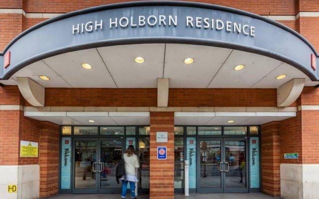 Отель LSE High Holborn Великобритания, Лондон - 1 отзыв об отеле, цены и фото номеров - забронировать отель LSE High Holborn онлайн вид на фасад