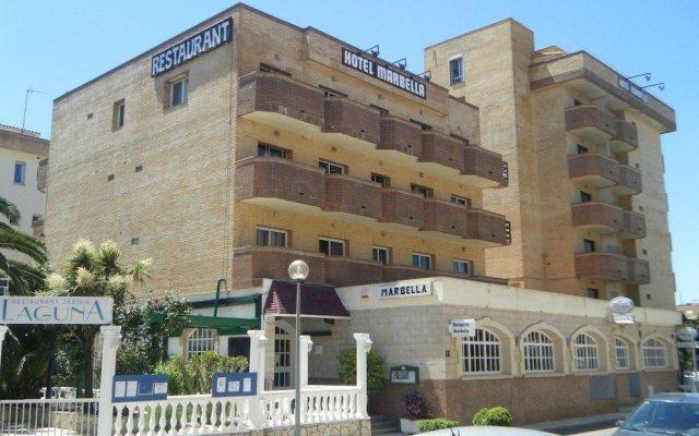 Отель Marbella Испания, Курорт Росес - отзывы, цены и фото номеров - забронировать отель Marbella онлайн вид на фасад