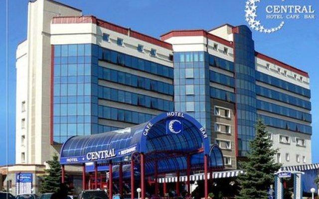 Централ Отель Донецк вид на фасад