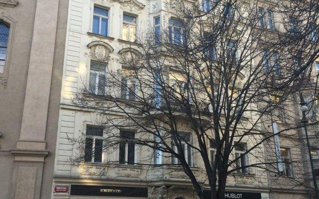 Отель Pařížská 1 Чехия, Прага - отзывы, цены и фото номеров - забронировать отель Pařížská 1 онлайн вид на фасад